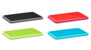coloured chopping board