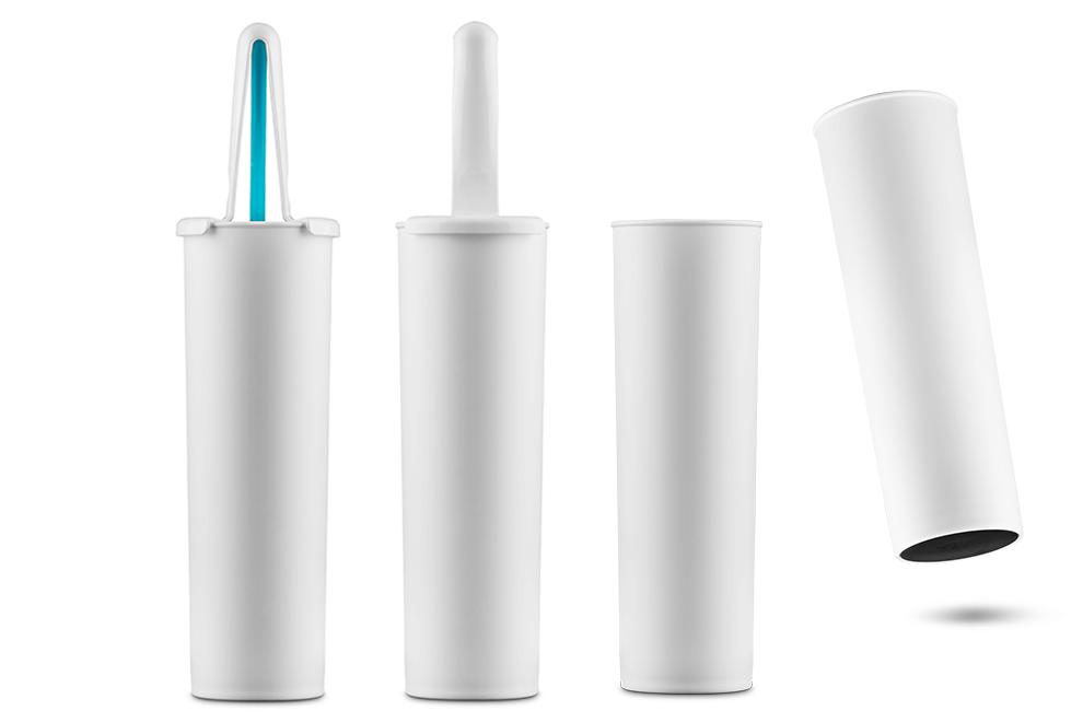 hygienic toilet brush holder