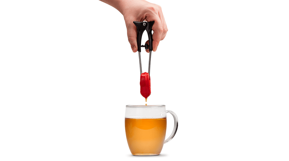 squeeze tea infuser